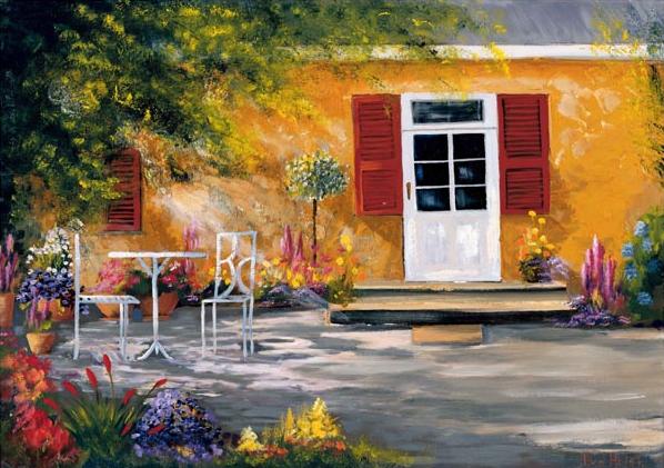 A Sunny Courtyard