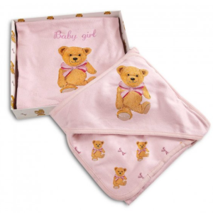 Baby Bath Set in Pink