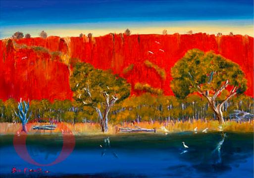 Red Western Austrailia