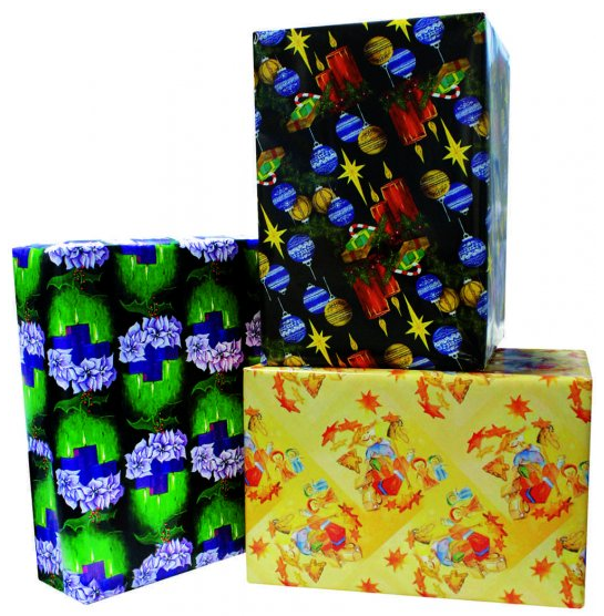 Bargain Buy Christmas Jumbo Gift Wrap